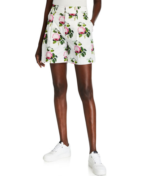 Libertine English Garden Pleated Shorts