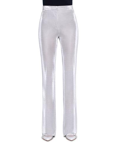 Farida Shimmer Jersey Pants