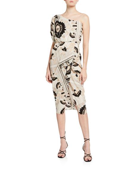 Johanna Ortiz Sacred Geometry Cotton Dress