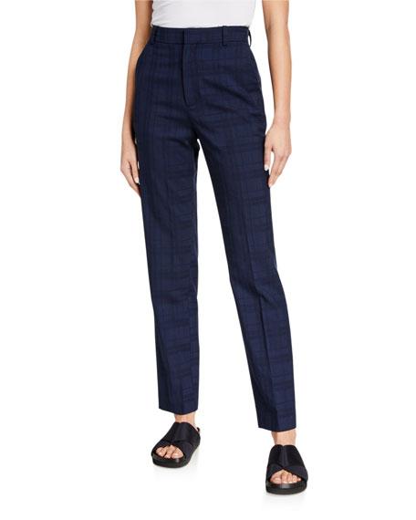 Co Wool-Silk Slim-Fit Pants