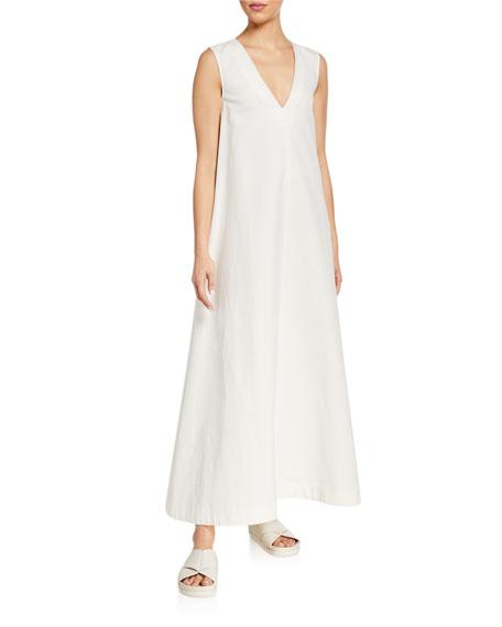 Co V-Neck Sleeveless Long Dress