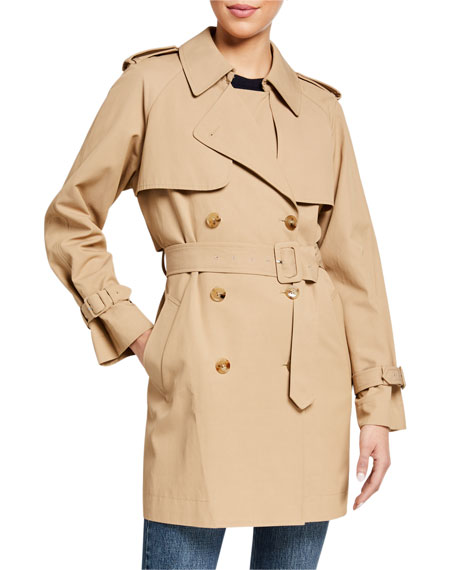 Co Short Trench Coat