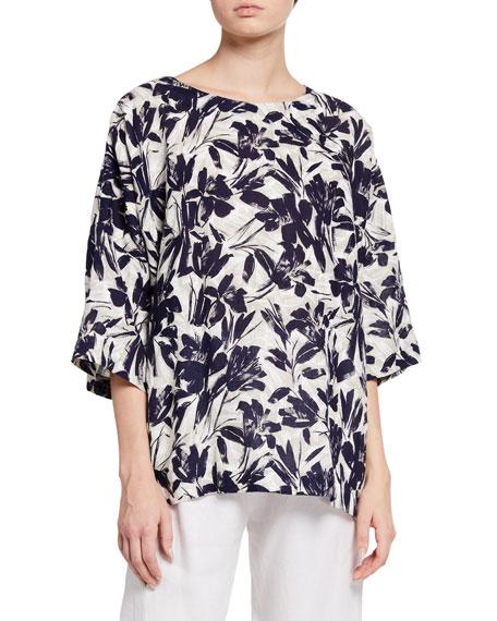 Eskandar Linen T-Shirt