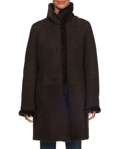 Hiso Reversible Lamb Shearling Jacket