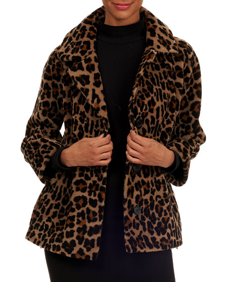 Michael Kors Collection Reversible Shearling Jacket