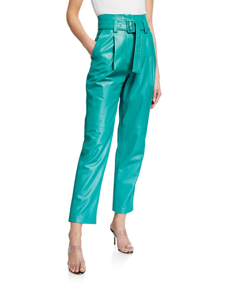 LAPOINTE Leather Lightweight Pants
