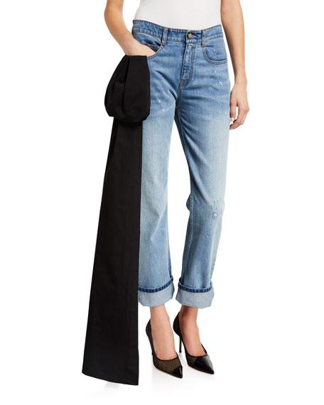 Hellessy Boyfriend Jeans with Sash