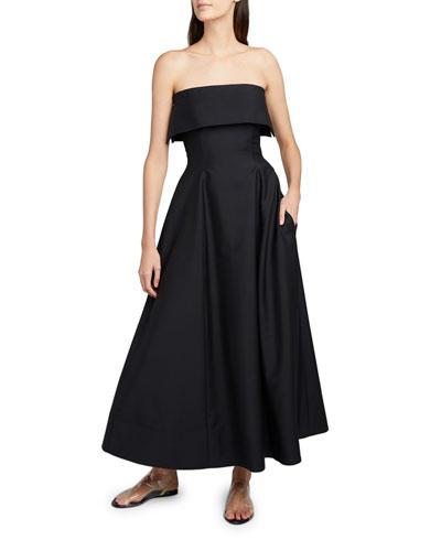 Dario Strapless Cocktail Dress