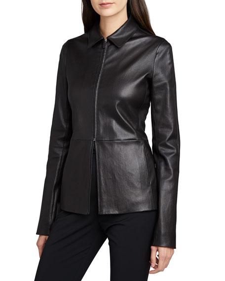 THE ROW Jima Leather Jacket