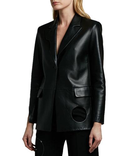 Meteor Leather Jacket
