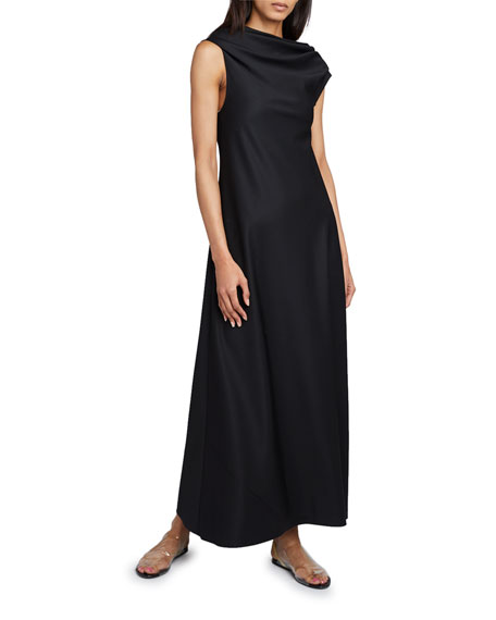 THE ROW Uma Crepe Maxi Dress