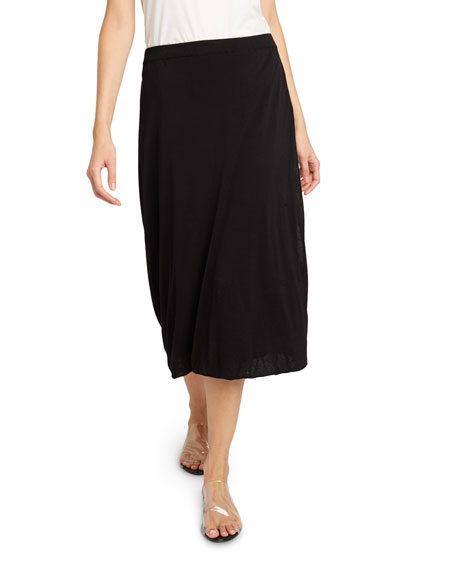THE ROW Coseti Cotton Midi Skirt