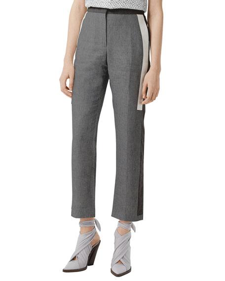 Burberry Jacindia High-Rise Trousers