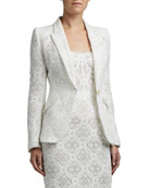 Alexander McQueen Lace Crocheted Blazer and Matching Items