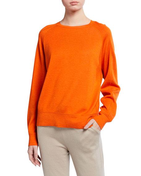 Maison Ullens Cashmere-Silk Sweatshirt-Style Sweater