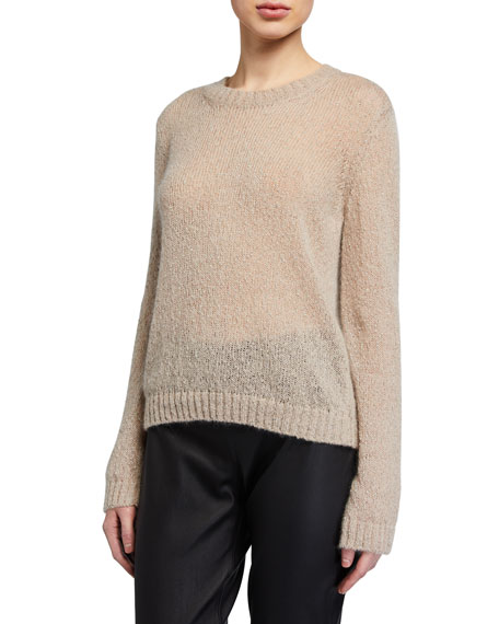 Piazza Sempione Metallic Boucle Sweater