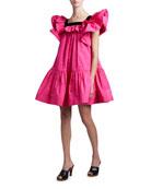 Marc Jacobs (Runway) Ruffled Taffeta Dress
