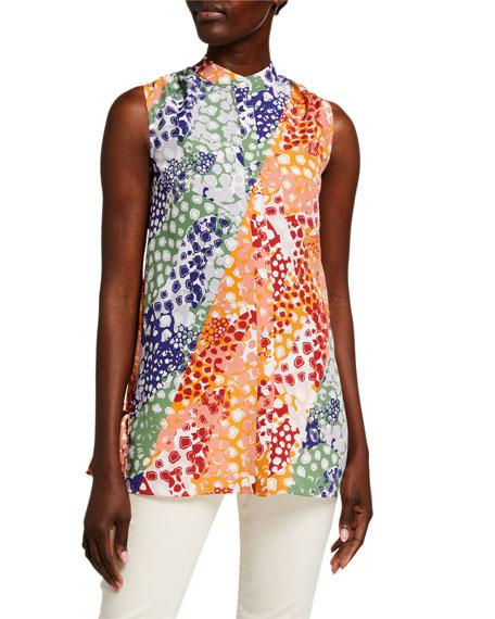ADEAM Giraffe Dotted Shirt