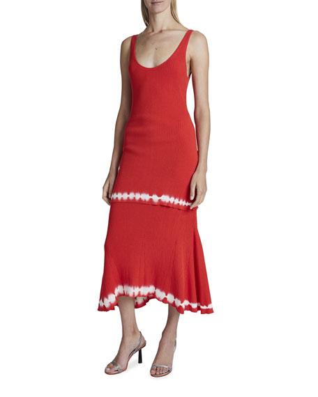 Altuzarra Shinob Scoop-Neck Dress