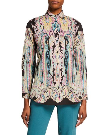 Etro Psychedelic Paisley Shirt