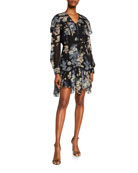 Etro Floating Flowers Lace Dress