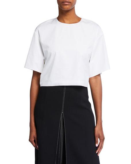 Partow Roxanna Cropped Cotton Top
