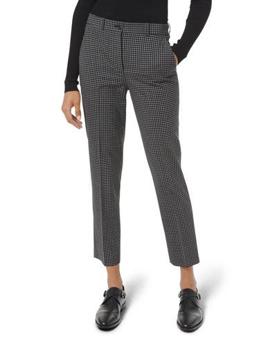Samantha Grid Plaid Pants