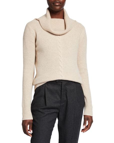 Max Mara Nettare Cable-Knit Cashmere Sweater