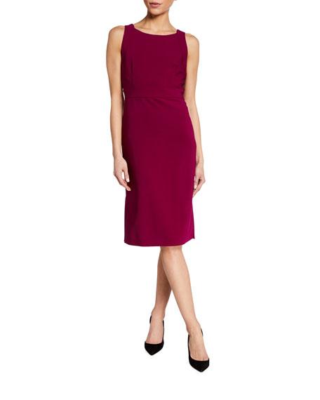 Maxmara Crepe Sheath Dress
