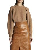 Isabel Marant Wool-Cashmere Crewneck Sweater and Matching Items
