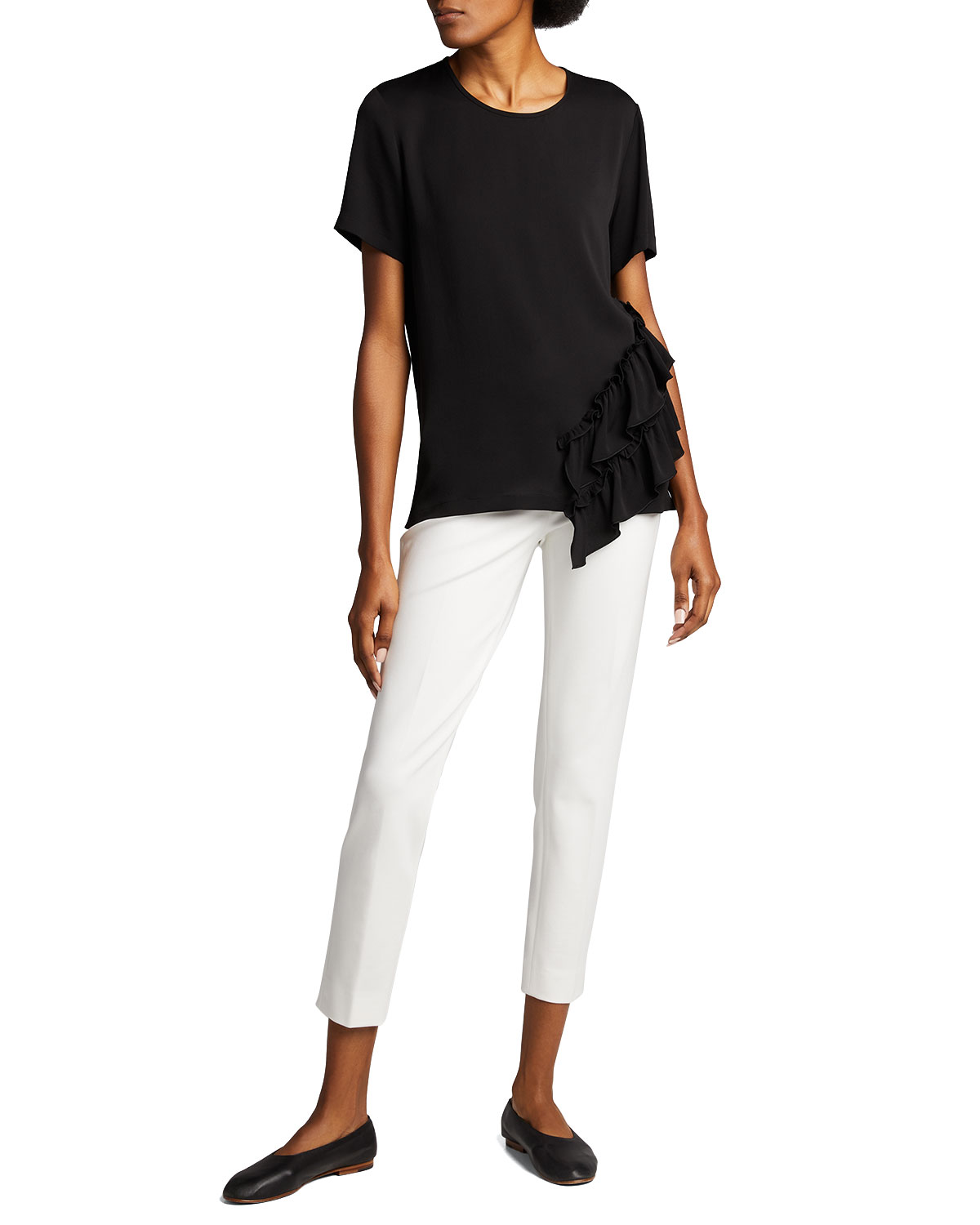 Pegno Jersey Ankle Pants