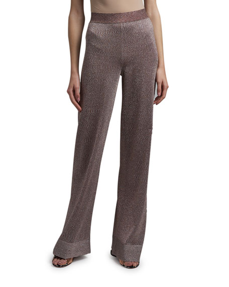 Missoni Shimmer Wide-Leg Pants