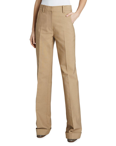 Victoria Beckham High-Rise 70's Trousers