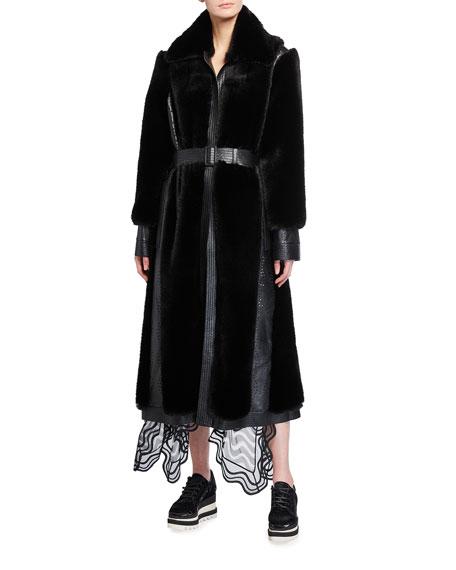 Stella McCartney Belen Faux Fur Coat