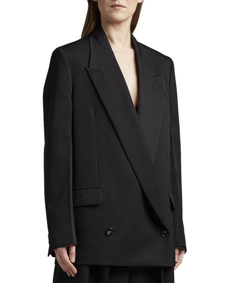 Bottega Veneta Low Double-Breasted Jacket