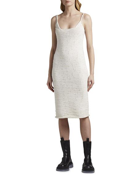 Bottega Veneta Tweed Slip Tank Dress