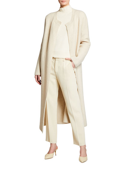 Brock Collection Wool-Cashmere Duster Cardigan