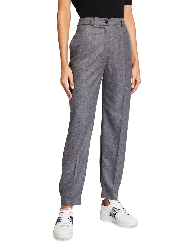 Tailored Wool Jogging Pants
