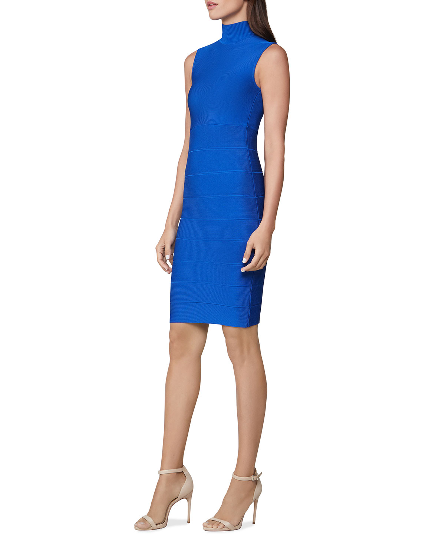 Sleeveless Turtleneck Icon Dress
