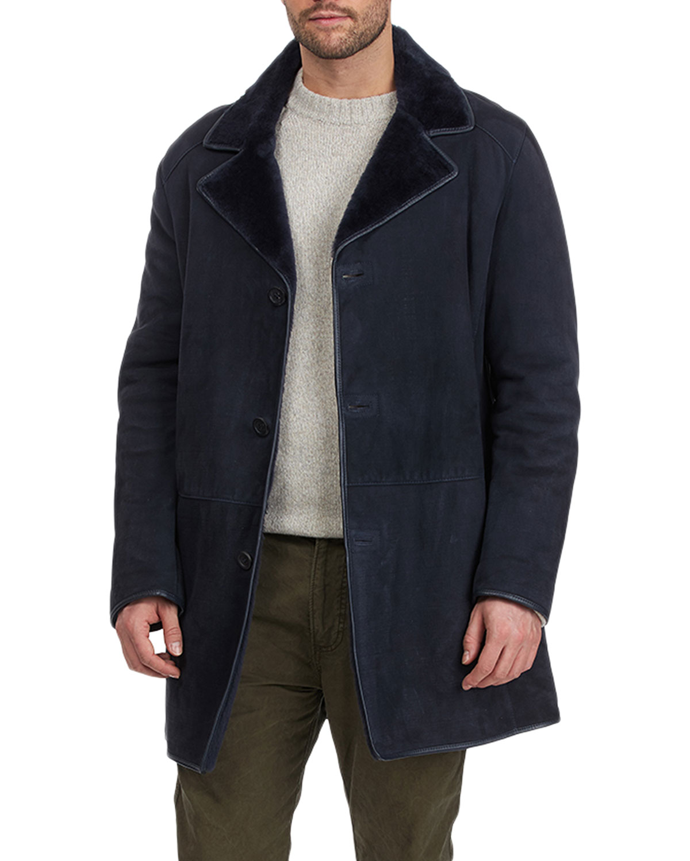 Men's Shearling Lamb & Napa Leather Jacket