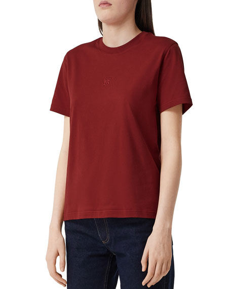 Burberry Dovey Embroidered T-Shirt