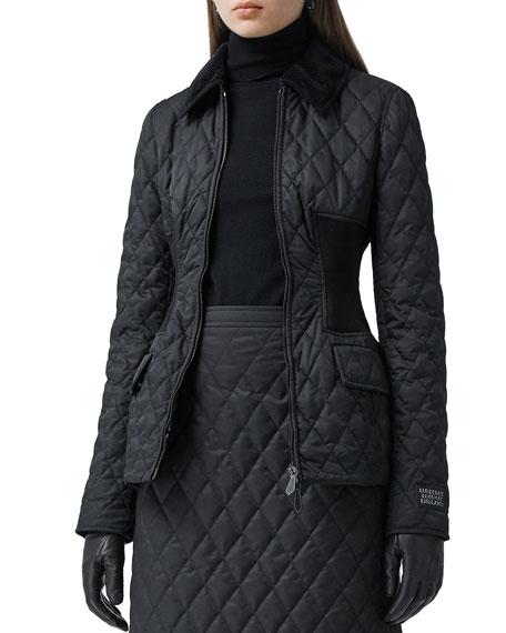 Burberry Pettaugh Quilted Coat