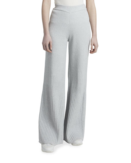 Maison Ullens Reversible Wide-Leg Travel Pants