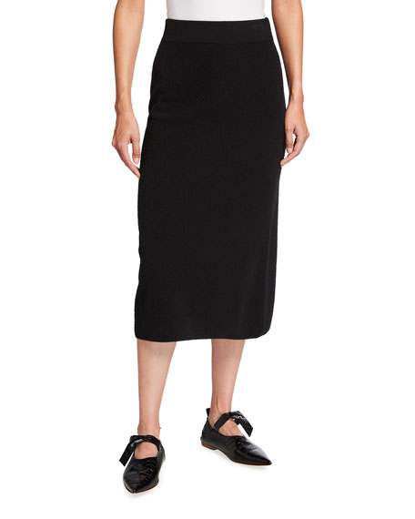 Agnona Wool-Blend Pencil Skirt