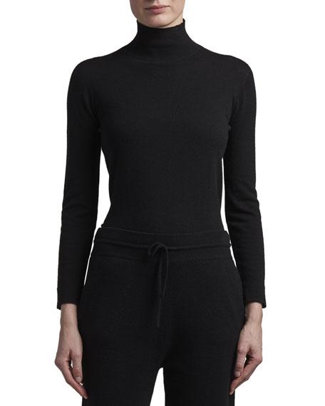 Agnona Eternals Cashmere Turtleneck Sweater with Tubular Finishing