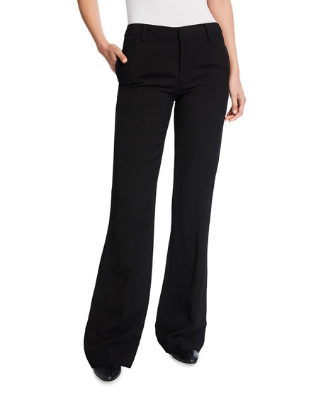 Co Flared Linen Trousers