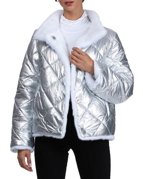 Gorski Reversible Mink Jacket
