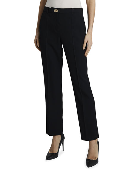 Givenchy Cigarette Pant with Turn-Lock
