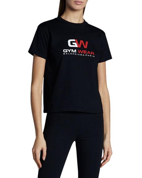 Balenciaga Gym Wear Logo T-Shirt