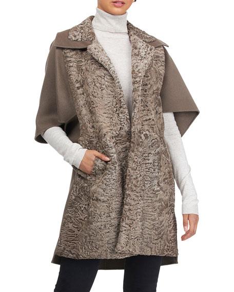 Gorski Lamb Wool Stroller